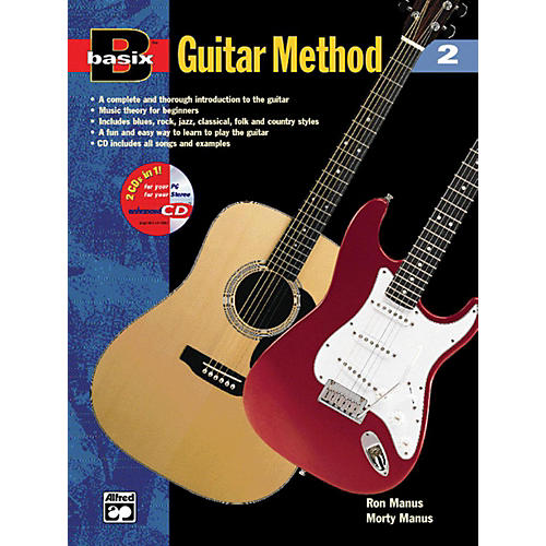 Alfred Basix Guitar Method 2 (Book/CD)-thumbnail