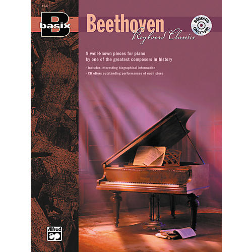 Alfred Basix Keyboard Classics: Beethoven (Book/CD)