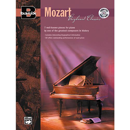 Alfred Basix Keyboard Classics: Mozart (Book/CD)-thumbnail