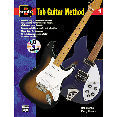 Alfred Basix TAB Guitar Method #1 CD-thumbnail