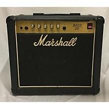 Marshall Bass 20 Bass Combo Amp