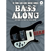 Music Sales Bass Along - 10 Funk and Soul Music Songs Book/CD