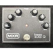 MXR Bass Auto Q Effect Pedal