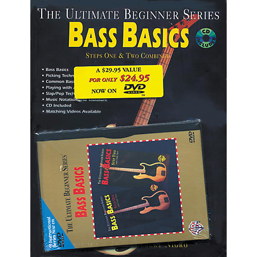 Alfred Bass Basics MegaPack (Book/DVD/CD)