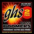 GHS Bass Boomers Standard Long Scale Roundwound Medium Light Electric Bass Strings 2-Pack  Thumbnail