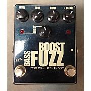 Tech 21 Bass Boost Fuzz Metallic Bass Effect Pedal
