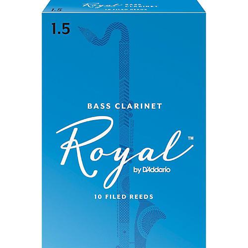 Rico Royal Bass Clarinet Reeds, Box of 10-thumbnail