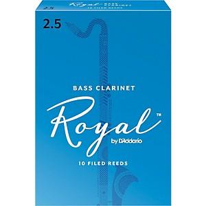 Rico Royal Bass Clarinet Reeds, Box of 10 by Rico Royal