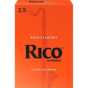 Rico Bass Clarinet Reeds, Box of 10 by Rico