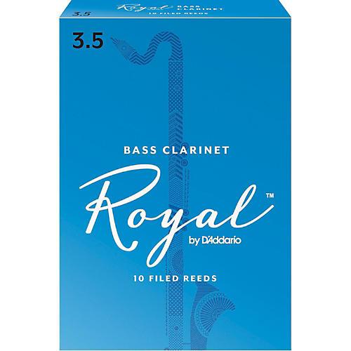 Rico Royal Bass Clarinet Reeds, Box of 10 Strength 1.5-thumbnail