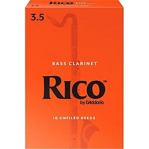 Rico Bass Clarinet Reeds, Box of 10