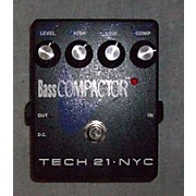 Tech 21 Bass Compactor Effect Pedal