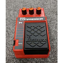 Ibanez Bass Compressor Effect Pedal
