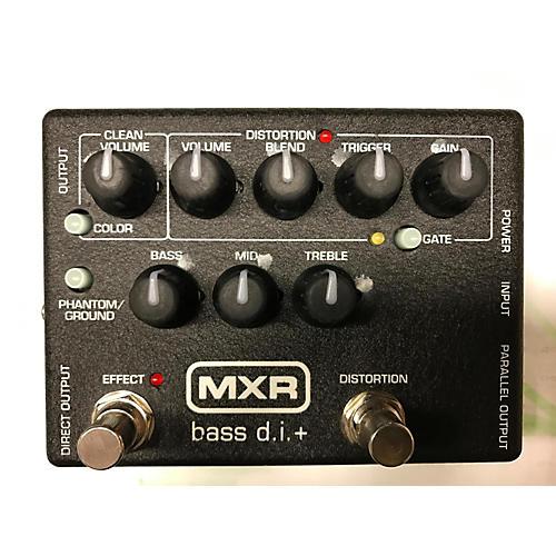 MXR Bass DI + Bass Effect Pedal-thumbnail
