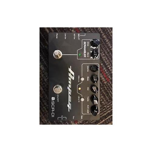 Ampeg Bass DI With Scrambler Bass Effect Pedal