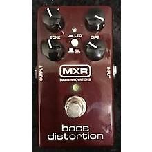 MXR Bass Distortion M85 Bass Effect Pedal
