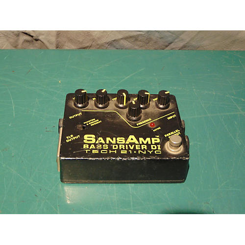 In Store Used Bass Drive DI Bass Effect Pedal-thumbnail