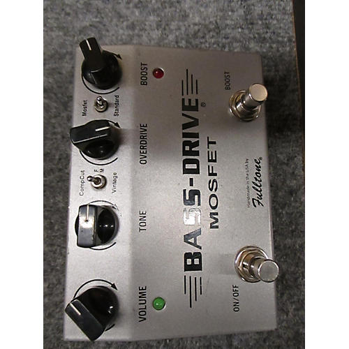 Fulltone Bass Drive Effect Pedal