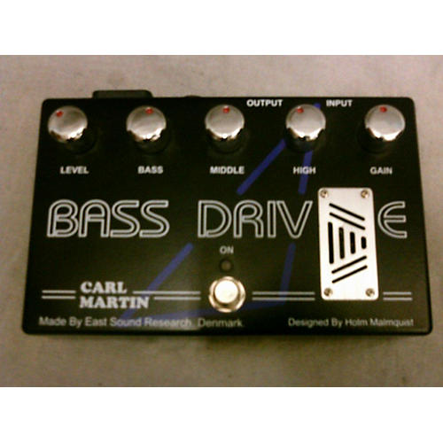 Carl Martin Bass Drive Tube Pre Amp Bass Effect Pedal