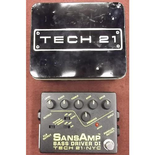 Tech 21 Bass Driver Direct Box Bass Effect Pedal