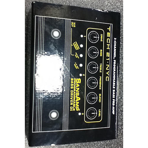 Tech 21 Bass Driver Direct Box Bass Effect Pedal