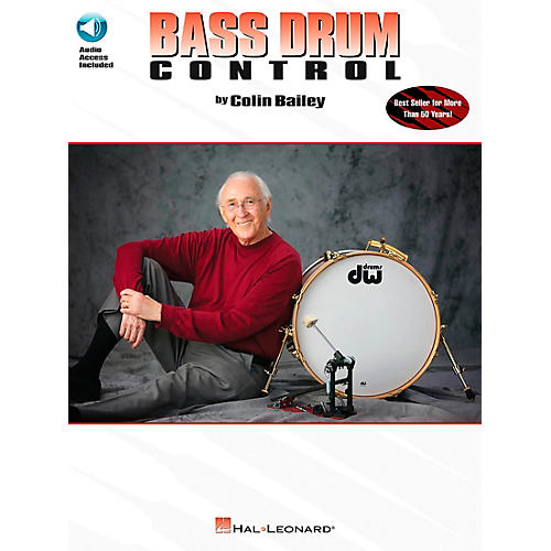 Hal Leonard Bass Drum Control - Revised Book/CD