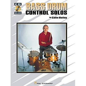 Hal Leonard Bass Drum Control Solos Percussion Series Softcover with CD Wri...