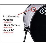 Bass Drum Lug Black Chrome