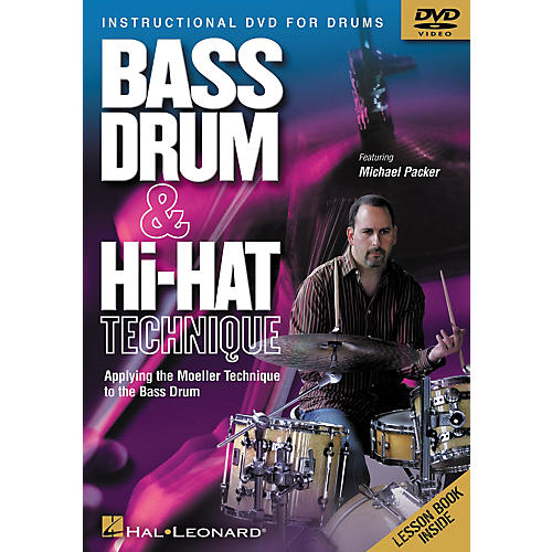 Hal Leonard Bass Drum and Hi-Hat Technique Applying the Moeller Technique to the Bass Drum (DVD)