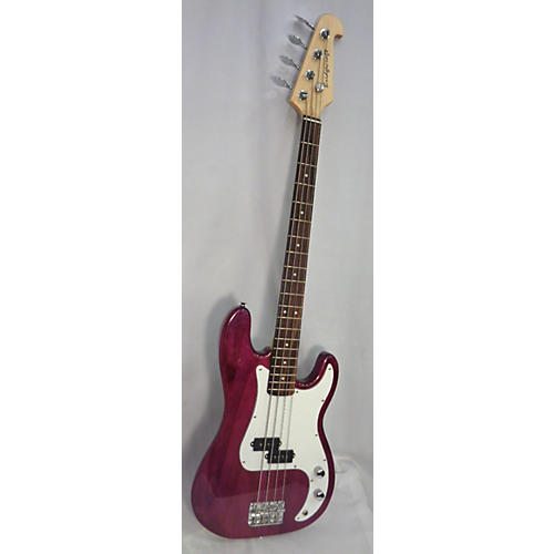 used bridgecraft bass electric bass guitar plum guitar center. Black Bedroom Furniture Sets. Home Design Ideas