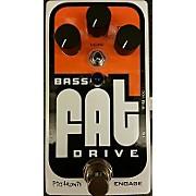 Bass Fat Drive Bass Effect Pedal