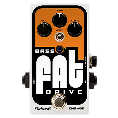 Pigtronix Bass Fat Drive Effects Pedal-thumbnail