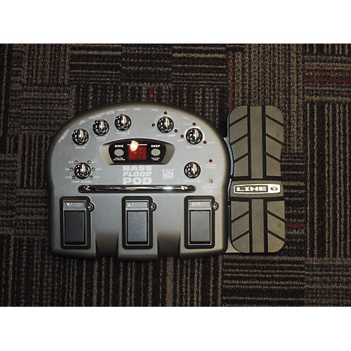 Line 6 Bass Floor Pod Effect Processor