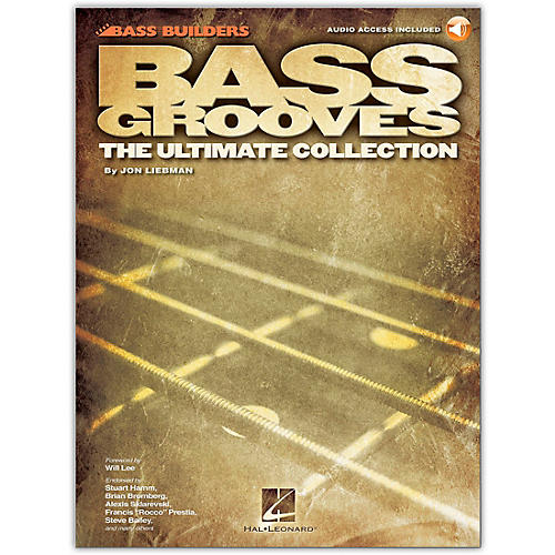 Hal Leonard Bass Grooves - The Ultimate Collection (Book/Online Audio)-thumbnail