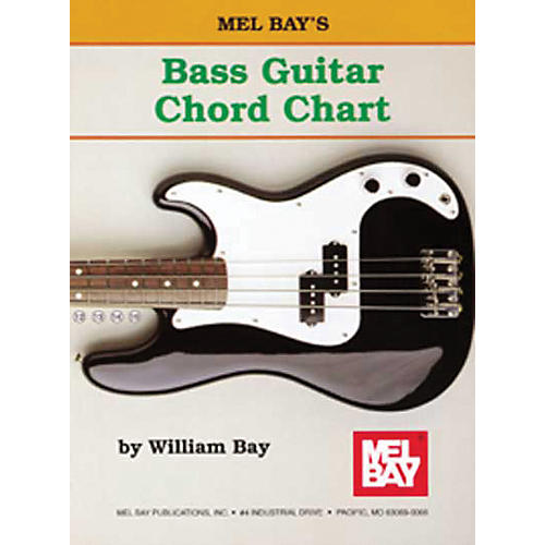Mel Bay Bass Guitar Chord Chart-thumbnail