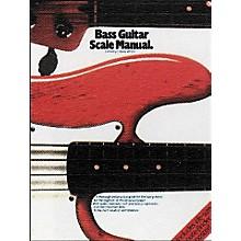 Music Sales Bass Guitar Scale Manual Book