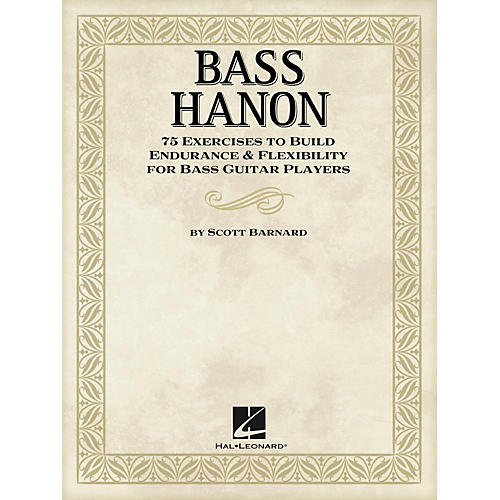 Hal Leonard Bass Hanon - 75 Exercises to Build Endurance and Flexibility for Bass Guitar Players-thumbnail