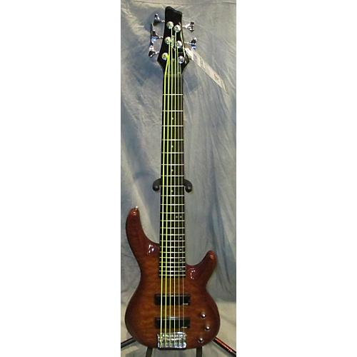 Alvarez Bass Honey Blonde Electric Bass Guitar