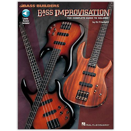 Hal Leonard Bass Improvisation (Book/Online Audio)