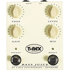 T-Rex Engineering Bass Juice Distortion Pedal by T Rex Engineering