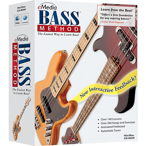 Emedia Bass Method 1 CD-ROM Version 2.0
