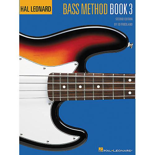 Hal Leonard Bass Method 3 - 2nd Edition Book