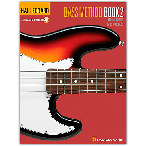 Hal Leonard Bass Method Book 2 - 2nd Edition (Book and CD Package)-thumbnail
