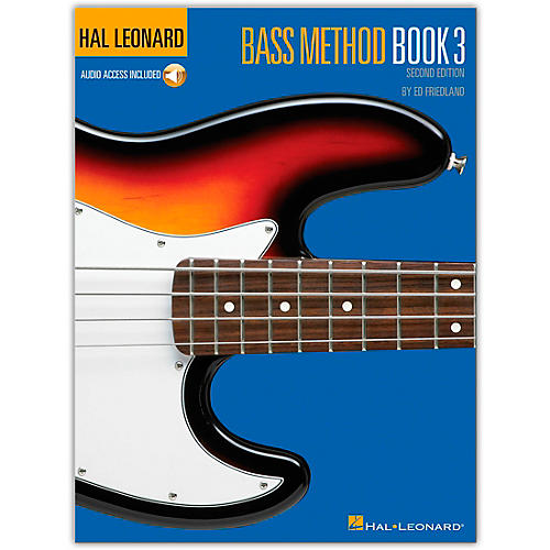 Hal Leonard Bass Method Book 3 - 2nd Edition (Book/Online Audio)-thumbnail