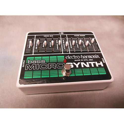 Electro-Harmonix Bass Micro Synth Bass Effect Pedal