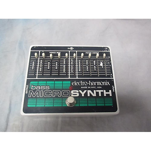 Electro-Harmonix Bass Micro Synth Bass Effect Pedal-thumbnail