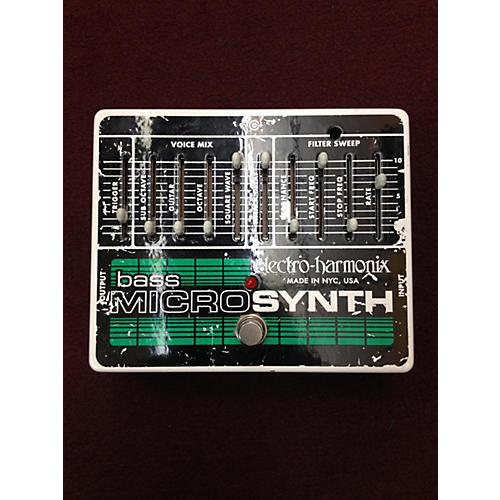 Electro-Harmonix Bass Micro Synth Bass Effect Pedal-thumbnail
