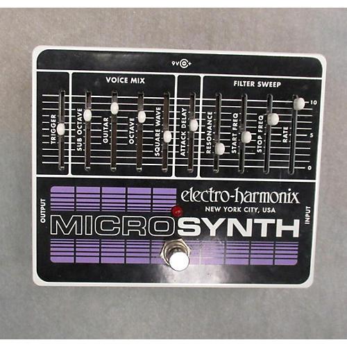 Electro-Harmonix Bass Micro Synth Bass Effect Pedal