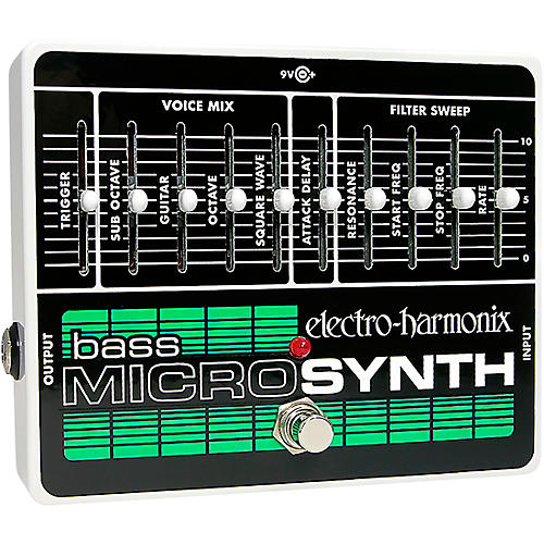 Electro-Harmonix Bass MicroSynth Effects Pedal-thumbnail