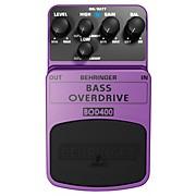 Bass Overdrive BOD400 Bass Effects Pedal